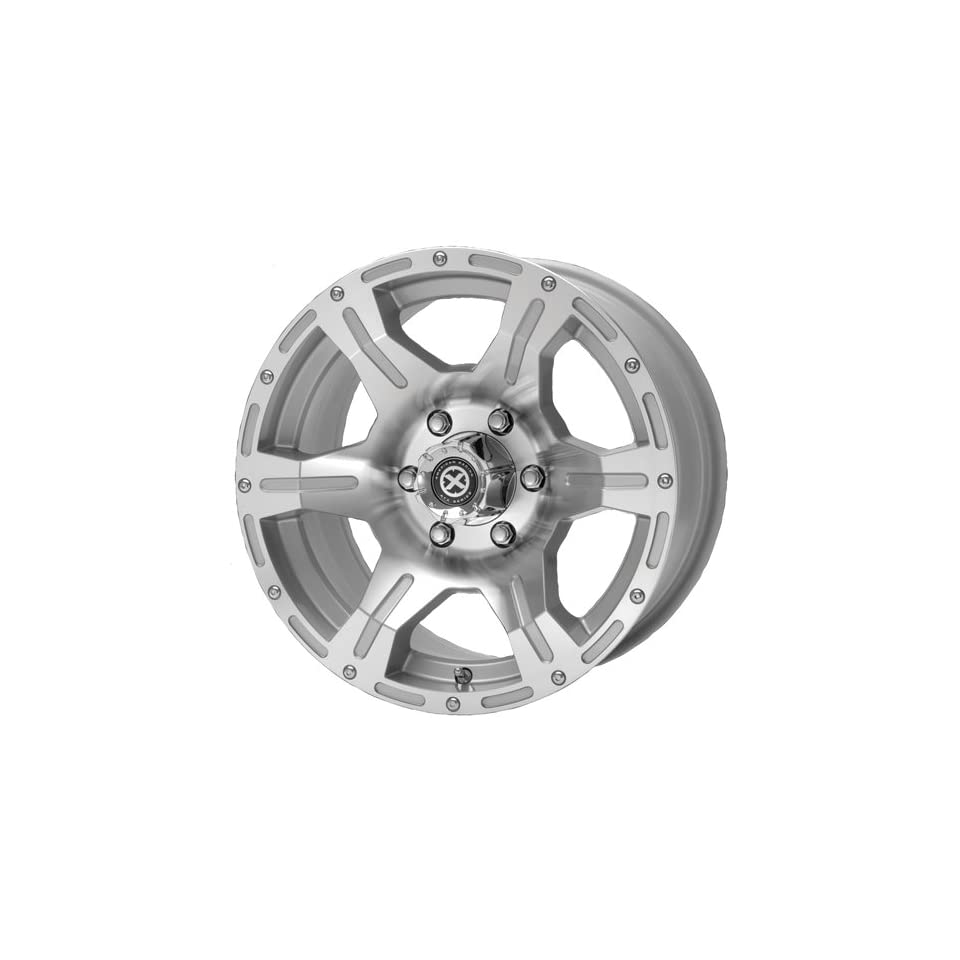 American Racing ATX Predator 16x8 Machined Wheel / Rim 5x4.5 with a 0mm Offset and a 83.06 Hub Bore. Partnumber AX10656865