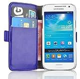 Samsung Galaxy S4 Mini, JAMMYLIZARD Luxuriöse Ledertasche