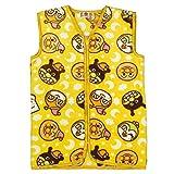アスナロ(パジャマ・ルームウェア) スリーパー アンパンマン 子供 毛布 あったか ルームウェア パジャマ大 イエロー