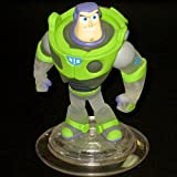 DISNEY INFINITY Crystal Clear Buzz Lightyear LOOSE figure