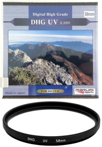Marumi 58mm 58 DHG Digital High Grade Filter UV L390 MC MCUV Multi-Coated JAPAN