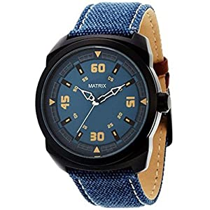 Matrix Explorer Analog Blue Dial Men's Watch-WCH-150