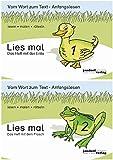 Lies mal - Hefte 1 und 2 (Paket): Vom Wort zum Text - Anfangslesen