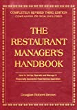img - for The Restaurant Manager's Handbook: How to Set Up, Operate, and Manage a Financially Successful Food Service Operation 3rd Edition - With Companion CD-ROM book / textbook / text book