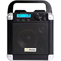 BriteLite BC-1BK iDance 50-Watt Portable Bluetooth Speaker