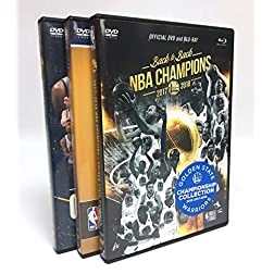 NBA Golden State Warriors Triple Championship DVD/BD Combo Pack