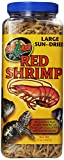 Zoo Med Sun Dried Large Red Shrimp,  ...