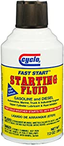Cyclo C-99 Fast Start Starting Fluid - 7.2 oz., (Pack of 12)