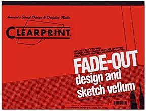 Vellum Archival Quality 8x8 Gridded 50-Sheet Design amp Sketch Pad - Clearprint 22 in L x 17 in W
