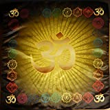 OM AUM Tissu Symbole
