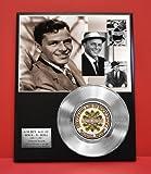 Frank Sinatra LTD Edition Platinum Record Display - Award Quality - Music Memorabilia -
