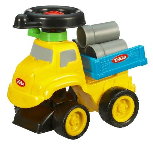 Hasbro Playskool Tonka Wheel Drivers Stake Truck