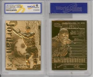 1997 Michael Jordan 23k Gold Cards Gem-mint by Basketball