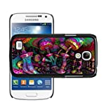 Psychedelic Mushroom 401 case cover for Samsung Galaxy S4 Mini i9190 + Screen Protector