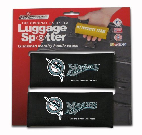 mlb-florida-marlins-two-pack-luggage-spotter-by-rico