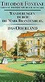 Wanderungen durch die Mark Brandenburg, 8 Bde., Bd.2, Das Oderland