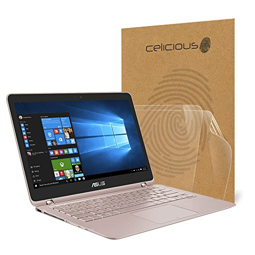 Celicious Vivid ASUS ZenBook Flip UX360UA Crystal Clear Screen Protector [Pack of...