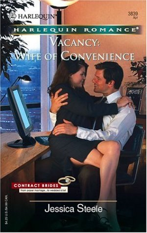 Image for Vacancy: Wife Of Convenience (Harlequin Romance)