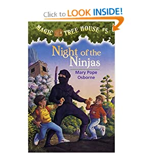 Night of the Ninjas (Magic Tree House, No. 5) by Mary Pope Osborne and Sal Murdocca