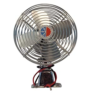 Amazon.com: Bergstrom (1000641228) Chrome 12V Auxiliary Defrost Fan