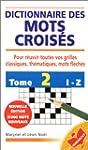Dictionnaire des mots crois�s : de I...