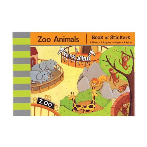 Mudpuppy Zoo Animals Book of Stickers - 1