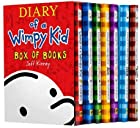 Diary of a Wimpy Kid Box Set Plus Sticker Sheet : Diary of a Wimpy Kid: A Novel in Cartoons, Rodrick Rules, The Last Straw, Dog Days, The Ugly Truth, Cabin Fever, and The Third Wheel