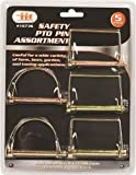 IIT 16736 Safety PTO Pin Assortment, 5-Piece