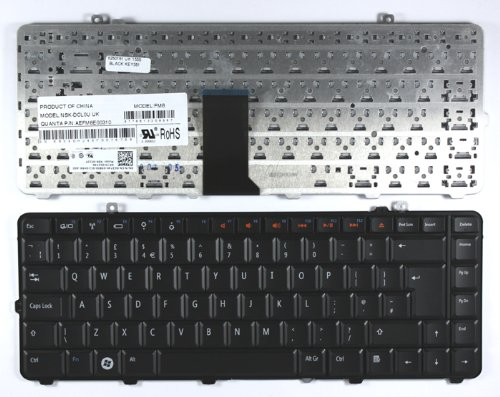 Dell AEFM8E00310 Black UK Layout Replacement Laptop Keyboard sale 2016