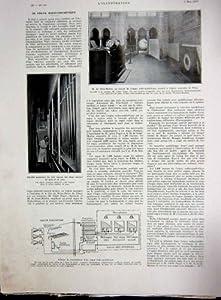 Synthetic Radio Organ Church Diagram French Print 1934