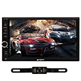 Pumpkin Quad Core 7 inch 2 DIN Universal Android 4.4 Car Stereo Radio HD 1024*600 Muti-touch Screen GPS Navigation Without DVD Player Support WIFI/3G/Bluetooth/OBD2/DVR/Mirror Link with Backup Camera