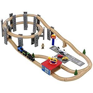 kidkraft waterfall junction train set and table instructions