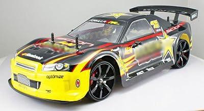 1/10 scale of 4 Wheel Drive (4WD) DRIFT R/C RACING CAR Rockstar radio remote control rc vehicle auto automobile MC02-G