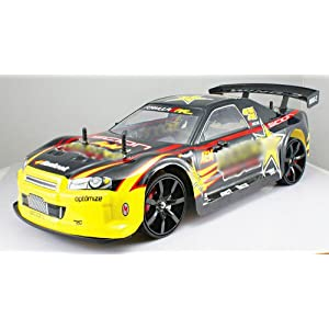 1/10 scale of 4 Wheel Drive (4WD) DRIFT R/C RACING CAR Radio Remote Control Vehicle RC Auto Automobile MC02-G