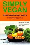 Simply Vegan: Quick Vegetarian Meals