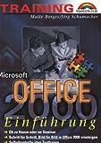 echange, troc Jörg Schumacher - Training Microsoft Office 2000. Einführung.