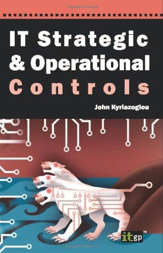 IT Strategic And Operational Controls (Tapa Blanda)