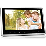 NAVISKAUTO Upgraded 10.1 Inch HD 1080P Digital TFT LCD Screen Car Headrest DVD Player Raspberry Pi Monitor With...