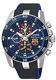 Seiko Sportura FC Barcelona Chronograph Blue Dial Blue Silicone Mens Watch SPC089P2 thumbnail