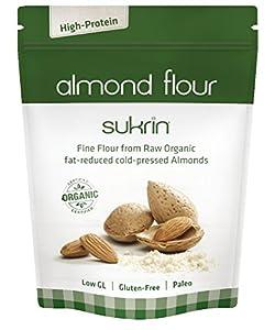 Amazon.com : Sukrin Organic Almond Flour, Gluten-Free, Low