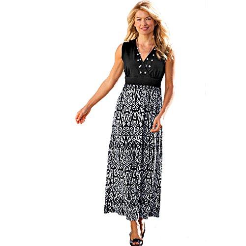 Blair Women'S Petite Maxi Dress - P-M Black
