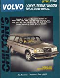 img - for Volvo Coupes, Sedans, and Wagons, 1970-89 (Chilton Total Car Care Series Manuals) book / textbook / text book