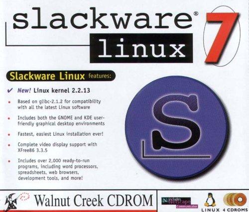 Slackware Linux 7 4 Disk Set