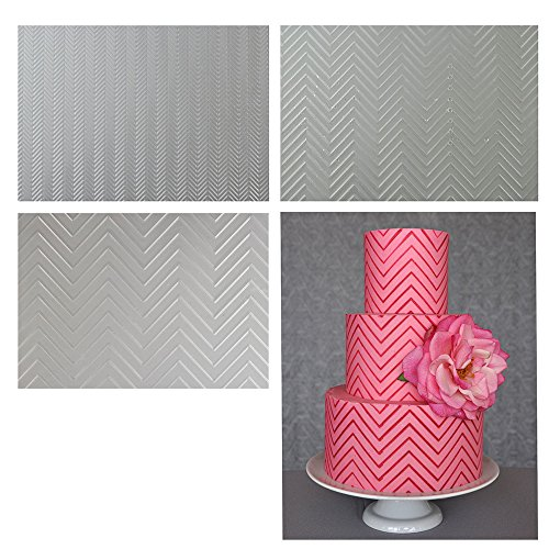 sweet-elite-strumenti-chevron-texture-fogli-set-di-tre-chevron-impressione-tappetini-per-glassa-past
