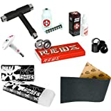 Skateboarders Tool Box - Bones Super Reds Precision Skate Bearings With Grip Tap, Wax &... by Bones