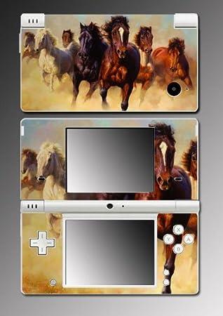 Horse Pony Stallion Mare vinyl Vinyl Decal Skin Protector Cover for Nintendo DSi