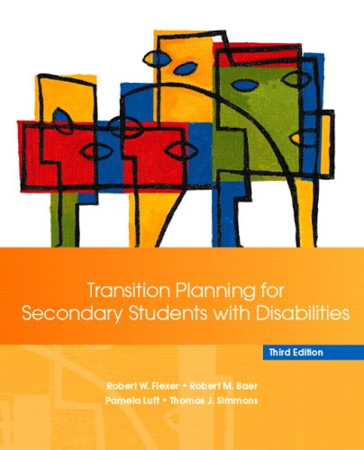 Transition Planning for Secondary Students with...