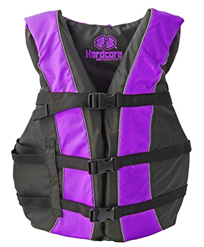 Hardcore® Adult and Youth Life Jackets - HC105 (Purple, Adult Universal (S, M, L, XL))