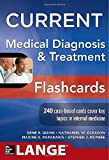 CURRENT Medical Diagnosis and Treatment Flashcards (LANGE CURRENT Series)