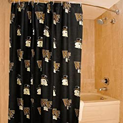 Wake Forest Printed Shower Curtain Cover